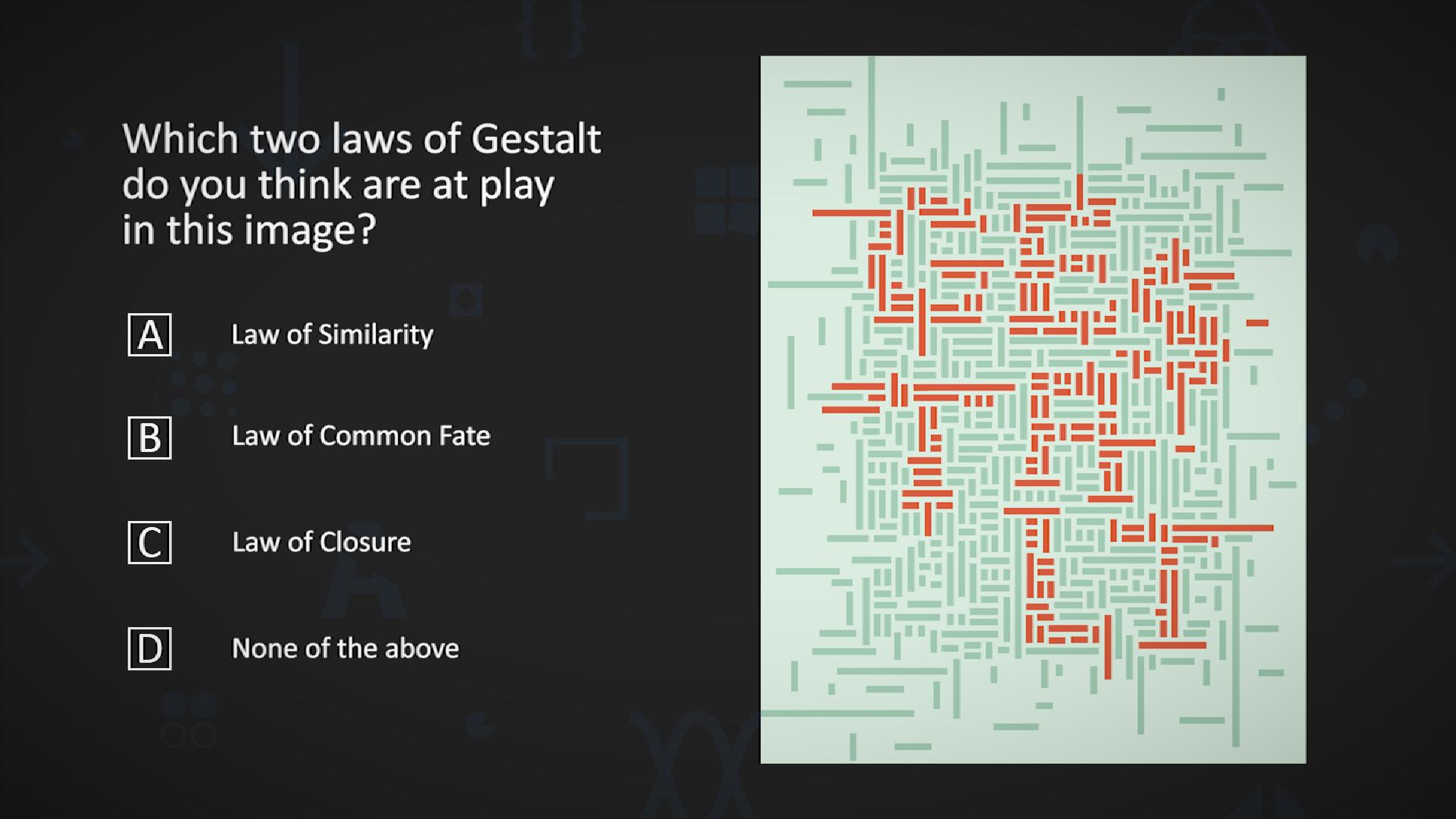 Gestalt Laws Quiz